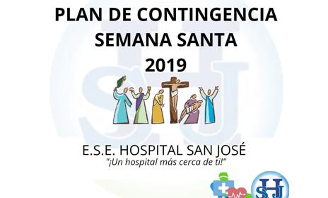 PLAN DE CONTINGENCIA SEMANA SANTA 2019